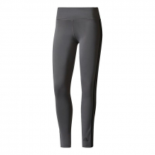 adidas Women's D2M 3-Stripes Long Tight by Adidas