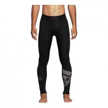 adidas Men's Alphaskin Sport Badge of Sport Long Tights by Adidas