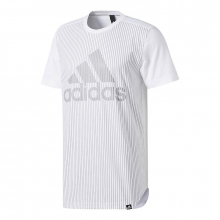 Men's Pinstripe Tee by Adidas