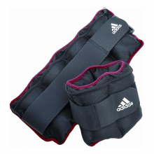 Unisex Adjustable Ankle/Wrist Weights 5 lb . by Adidas