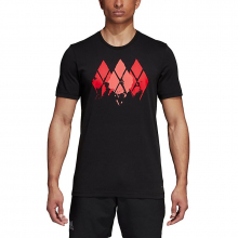 Men's Barricade Graphic Tee by Adidas