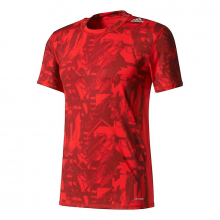 Men's Techfit Base Fitted Graphic Tee by Adidas