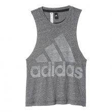 Women's Logo Sleeveless Tee by Adidas