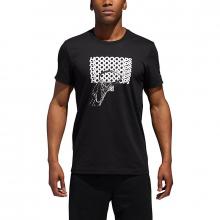 Men's Hoop Tee by Adidas