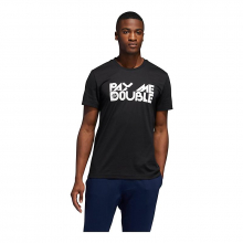 Men's Pay Me Double Graphic Tee by Adidas