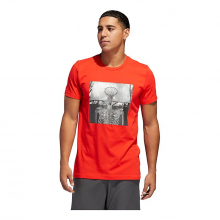 Men's Skull Ball Graphic Tee by Adidas