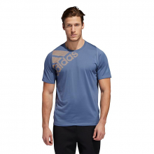 Men's FreeLift Badge Of Sport Graphic Tee by Adidas