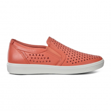 Women's Soft 7 Laser Cut Slip-On by ECCO in Worthington MN