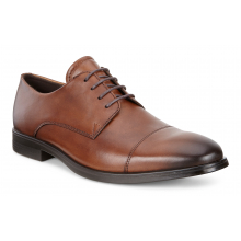 Men's Melbourne Cap Toe Tie by ECCO in Carroll IA