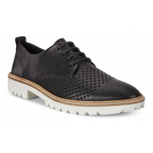 Women's Incise Tailored Perforated Tie by ECCO in Pella IA