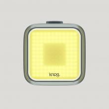 Blinder Square Black Front Bike Light by Knog