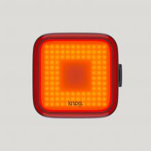 Blinder Square Black Rear Bike Light by Knog