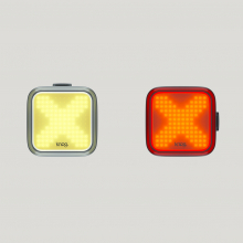 Blinder X Twin Pack Front & Rear Light by Knog