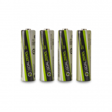 AA Batteries 4Pk For Guide 10 by GoalZero in Eureka Ca