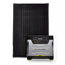 Yeti 1250 Kit With Boulder 100 Briefcase Solar Panel by GoalZero