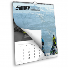 18-Month Snow Wall Calendar by 509