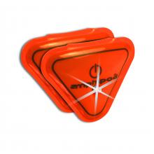 Flash Mini LED Flashing Wearable LED Reflectors by Amphipod