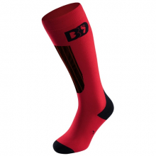 BD Socks STYLE PFI 50 red/black by Boot Doc