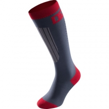 BD Socks FIRE PFI 70 grey/red by Boot Doc in Phoenix Az