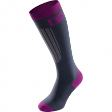 BD Socks Purple PFI 70 grey/pink by Boot Doc