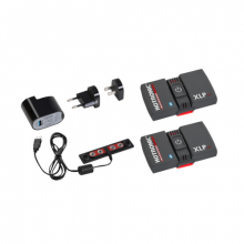 XLP 2P BT POWER SET (pr) (Battery Packs w/ Bluetooth & Recharger) by Boot Doc