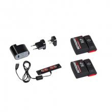 XLP 1P POWER SET (pr) (Battery Packs & Recharger) by Boot Doc
