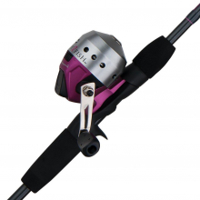 Ladyfish Spincast Combo | Model #LADYSC56M6 by Shakespeare in Loveland CO