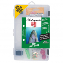 Catch More Fish Trout Kit | Model #TROUT2TBKIT by Shakespeare