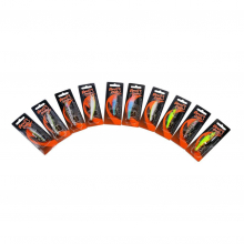 Devil's Own Floating Minnow | Model #FLOATING MINNOW - 100 PCS by Shakespeare