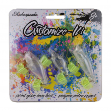 Customize-It Bait   Model #PAINTYOUROWNBAIT by Shakespeare