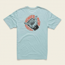 Men's Select Pocket T - Shaka The Monkey by Howler Brothers in Blacksburg VA