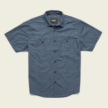 Men's Aransas Shirt - Tarpon Scale Print