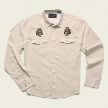 Men's Gaucho Snapshirt - Riverbed Oxford by Howler Brothers