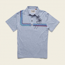 Men's Rookery Polo - Palm Climber by Howler Brothers in Blacksburg VA