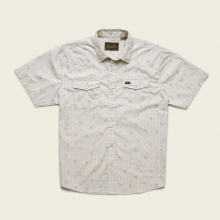 Men's H Bar B Snapshirt - Vintage Grid Floral