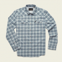 Men's H Bar B Tech Longsleeve - Bolan Plaid
