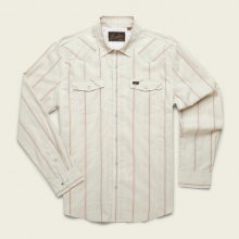 Men's H Bar B Tech Longsleeve - Porter Stripe by Howler Brothers