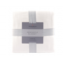 Adult Blanket Oversized Queen - Pristine White by Newcastle Classics in Dublin Ca