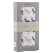 Blue Deer Swaddle by Newcastle Classics in Dublin Ca
