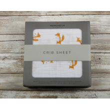 Fancy Fox Crib Sheet by Newcastle Classics in Dublin Ca