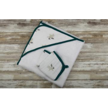 Forest Friends Hooded Towel and Washcloth Set by Newcastle Classics in Roseville Ca