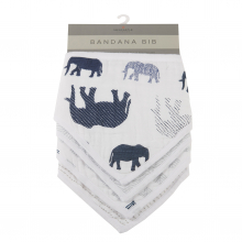 In The Wild Elephant Heart Bibs Set of 2 by Newcastle Classics in Roseville Ca