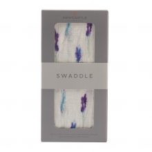 Lavender Swaddle by Newcastle Classics in Roseville Ca