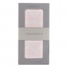 Matchstick Hearts Swaddle by Newcastle Classics