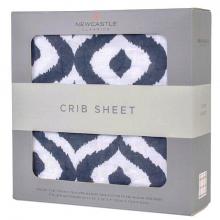 Moroccan Blue Crib Sheet by Newcastle Classics in Las Vegas NV