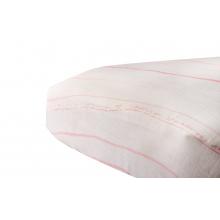 Pink Stripe Crib Sheet