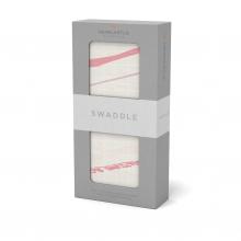Pink Stripe Swaddle