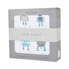 Robot Crib Sheet by Newcastle Classics