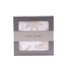Star Anise Crib Sheet by Newcastle Classics