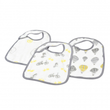 Traveler Snap Bibs Set of 3 by Newcastle Classics in Roseville Ca
